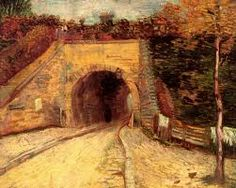 Van Gogh - Roadway with Underpass