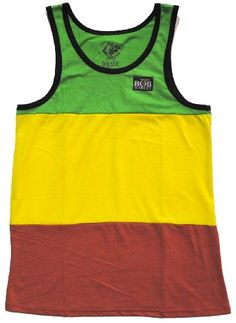 Bob Marley Catch a Fire Rasta Stripe Mens Tank Top for only $13.50 You save: $13.45 (50%)