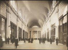 [Interior of Pennsylvania Station.]