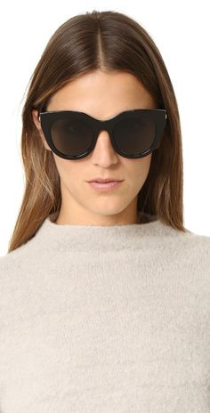 Le Specs Woman Round-frame Acetate And Gold-tone Mirrored Sunglasses Stone Size Le Specs A1FqnPC