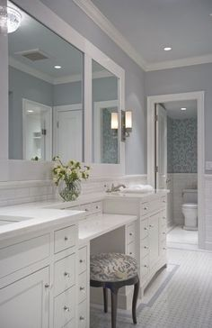 Gallery Back Bay Condo Lewis Interiors Boston Interior Designers Bathroom Makeup Vanitiesbathroom Ideasbathroom