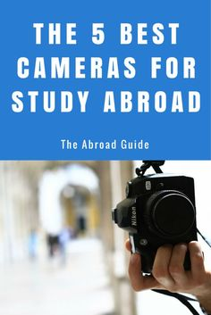 These are the top five cameras to get for your study abroad experience. The best cameras to get for study abroad. ** Click image for more details. #DigitalPhotography
