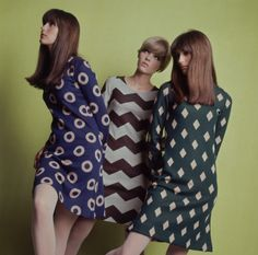 trss:  Groovy '60s print dresses.