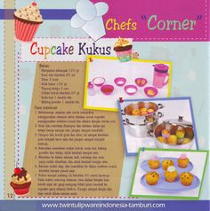 CupCake Kukus - Edisi Resep Masakan Twin Tulip Steamer