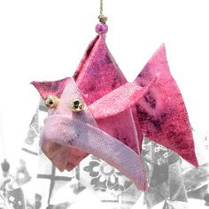 Lucky Fish Fabric Origami Ornaments - Mary Flowerday | Touchstone Gallery