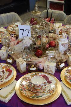One Fabulous Mom: Christmas Tea Party! Setting the perfect tea table!