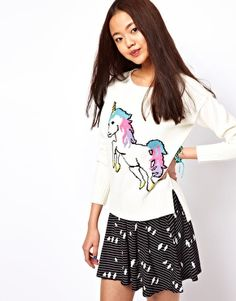 unicorn sweater!