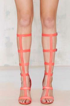 Iggy Azalea x Steve Madden 'Bout It Gladiator Heel   Shop Shoes at Nasty Gal!