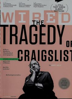 Wired magazine Craigslist Lo-fi tech Paper planes Cure all pill Brain backup
