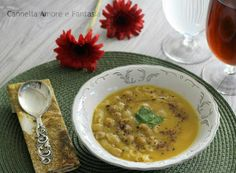 Pasta con i ceci cremosa - ricetta leggera e senza lattosio