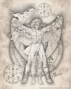 Uriel; Means God is Light, God's light or Fire of God.  He illuminates situations and gives prophetic information and warnings.  A new idea...