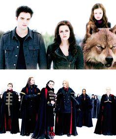 The Cullens vs The Voltori. The epic finale