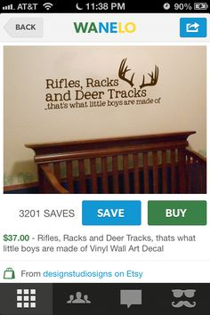 I need this for Bryson's room!