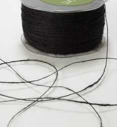 Black Rustic Twine - 20 Yards. $4.00, via Etsy.