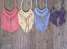 Recycled Fashion: T-shirt to Treasure: Upcycled Macramé Necklace Workshop with Colour Box Studio:
