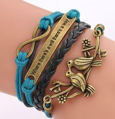 2016 Fashion Love Women Colorful Wrap Jewelry  Friendship Woven Bangle Bracelet  #Unbranded #Bangle #CocktailWeddingEngagementAnniversary