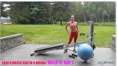 Lose a Dress Size in 4 Weeks: Week 3 #totalgym #loseadresssize #workout