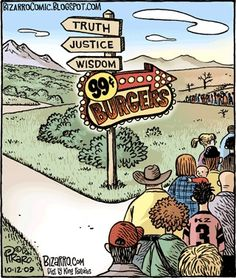 Humor - Years Of Dan Piraro Vegan, anti-vivisection, tree-friendly, environmentally-friendly cartoons - from Dan Piraro of Bizarro.