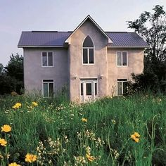 Read surprising answers to common questions about straw bale construction, an increasingly popular alternative building method. Condo Design, House Design, Straw Bale Construction, Rammed Earth Homes, Tadelakt, Natural Homes, Straw Bales, Dome House, Building A Shed