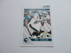 Jeremy Maclin 2011 Football Card.
