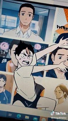 Manga Haikyuu, Haikyuu Kageyama, Haikyuu Funny, Nishinoya, Haikyuu Fanart, Kagehina, Funny Anime Pics, Cute Anime Guys, Anime Films