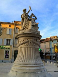 Not everyone who goes to Provence stops to visit Orange, France. I'm not sure why because it's not that far from Avignon and Châteauneuf-du-Pape Orange France, Chateauneuf Du Pape, Provence, Barefoot, Greek, Statue, Greece, Sculptures, Aix En Provence