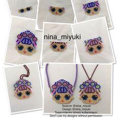 Loom Bracelets, Brick Stitch, My Design, Crochet Necklace, Elsa, Beads, Crafts, Accessories, Jewelry
