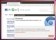 Chromium sempre aggiornato su Ubuntu, ecco i cambiamenti nell'ultima versione stabile.
