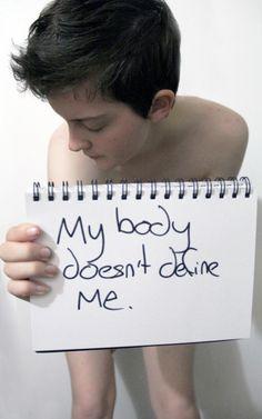 My body doesn't define me.