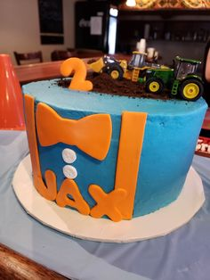 Cake For Blippi Themed Party Blippi In 2019 Birthday