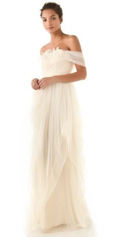 Wedding Ideas: white-ethereal-wedding-dress