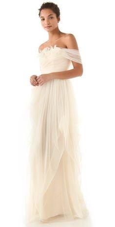 Wedding Ideas: white-ethereal-wedding-dress