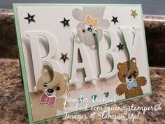 Eclipse card | Cookie Cutter Christmas teddy bear, Large Letters framelits