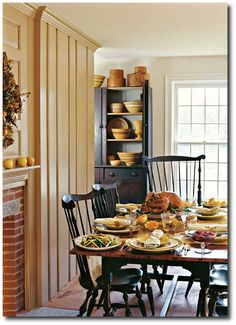 colonial decorating | ... Chairs-Ideas For Primitive And Colonial Decorating – Primitive Decor
