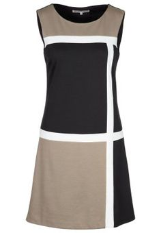 Vestido de algodón - beige #zalando #kissmylook