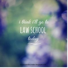 An honest account about how it feels to be on a law school wailist | brazenandbrunette.com