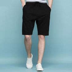2017 Men'S Loose Summer Wear Knitting Half Pants Solid Color,Man Shorts Online Shopping From Liupinyan, $21.11 | Dhgate.Com