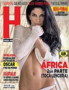 Revistas PDF En Español: Revista H para Hombres México (África Zavala) - En...
