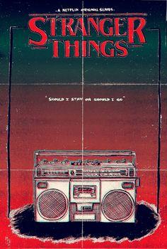 Netflix original series Stranger Things - fanmade poster