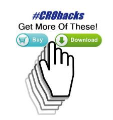 CRO Hacks is a list of conversion rate optimization hacks that will improve your sites conversion rate and provide user insights to issues with your site. I have successfully used most of these CRO hacks for clients on landing pages, ecommerce systems or across a whole site.