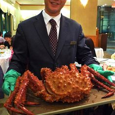 Alaskan King Crab.  I would laugh so hard if I ordered king crab and this is what came out!
