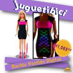 La tendencia de este año nuevo para Barbie es un lindo vestido digital