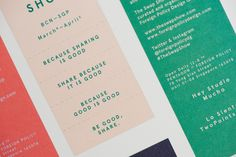 The Swap Show Edition 01 by Foreign Policy, via Behance