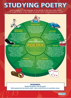 Studying Poetry Poster