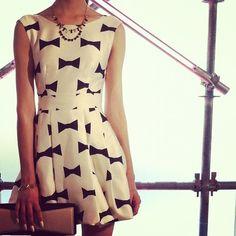 Kate Spade bow dress.