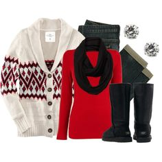 """""""Red, Black & White"""" by qtpiekelso on Polyvore"""