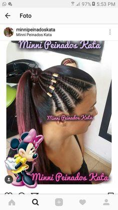 Black Girls Hairstyles, Cute Hairstyles, Straight Hairstyles, Braided Hairstyles, Black Girl Braids, Girls Braids, Four Braid, Cornrows, Dreads