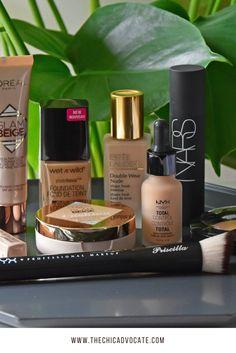 Mein ultimativer Foundation Test mit Foundationneuheiten von L'Oréal, Estée Lauder, NYX, NARS und Wet'n'wild