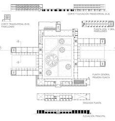Great Seminar Floor Plans by Manuel Angel Ganoza Plaza  Trujillo, Perú - 1962