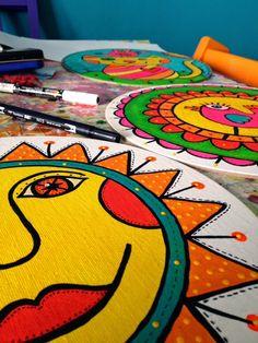 Tania Brügger Marquez Blog Happy Things, Kids Rugs, Studio, Colors, Illustration, Blog, Design, Home Decor, Kid Friendly Rugs